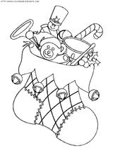 Imprimer le coloriage : Cadeau de Noël, numéro 44611