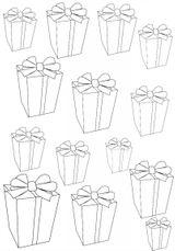 Imprimer le coloriage : Cadeau de Noël, numéro 44809