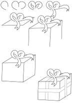 Imprimer le coloriage : Cadeau de Noël, numéro 44811