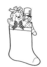 Imprimer le coloriage : Cadeau de Noël, numéro 44814