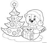 Imprimer le coloriage : Cadeau de Noël, numéro 46f23aeb