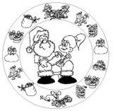 Imprimer le coloriage : Cadeau de Noël, numéro 51623