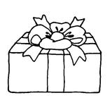 Imprimer le coloriage : Cadeau de Noël, numéro 66586