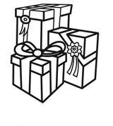Imprimer le coloriage : Cadeau de Noël, numéro 760380