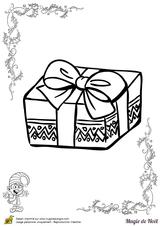 Imprimer le coloriage : Cadeau de Noël, numéro 760381