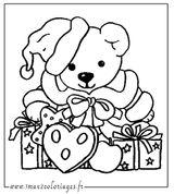Imprimer le coloriage : Cadeau de Noël, numéro 858ef86f