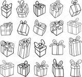 Imprimer le coloriage : Cadeau de Noël, numéro ac4f5723