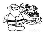 Imprimer le coloriage : Cadeau de Noël, numéro c17efe09