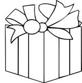 Imprimer le coloriage : Cadeau de Noël, numéro d3d82e7d