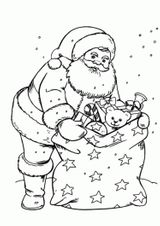 Imprimer le coloriage : Cadeau de Noël, numéro dd00a074
