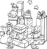 Imprimer le coloriage : Cadeau de Noël, numéro f1f91246