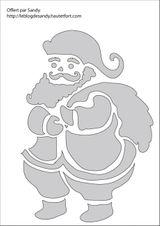 Imprimer le coloriage : Père Noël, numéro 182898