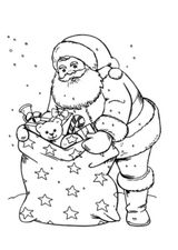 Imprimer le coloriage : Père Noël, numéro 18a2c4ca