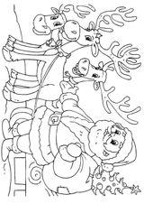 Imprimer le coloriage : Père Noël, numéro 192769