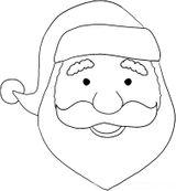 Imprimer le coloriage : Père Noël, numéro 342287