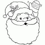 Imprimer le coloriage : Père Noël, numéro 44757