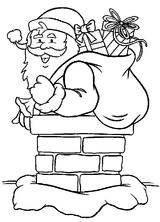Imprimer le coloriage : Père Noël, numéro 44762