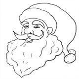 Imprimer le coloriage : Père Noël, numéro 4904