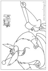 Imprimer le coloriage : Père Noël, numéro 51613
