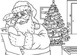 Imprimer le coloriage : Père Noël, numéro 66503
