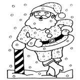 Imprimer le coloriage : Père Noël, numéro 66523