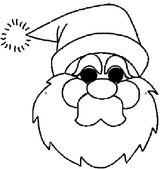Imprimer le coloriage : Père Noël, numéro 677132