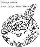 Imprimer le coloriage : Père Noël, numéro 687081