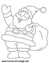 Imprimer le coloriage : Père Noël, numéro 756135