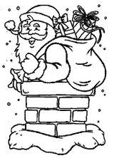 Imprimer le coloriage : Père Noël, numéro 756136