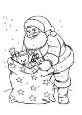 Imprimer le coloriage : Père Noël, numéro 90bfa36f