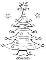 Imprimer le coloriage : Sapin de Noël, numéro 256848