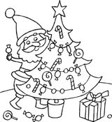 Imprimer le coloriage : Sapin de Noël, numéro 362dc61c