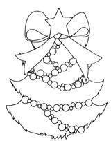 Imprimer le coloriage : Sapin de Noël, numéro 44564