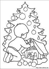 Imprimer le coloriage : Sapin de Noël, numéro 44588