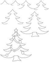Imprimer le coloriage : Sapin de Noël, numéro 44592
