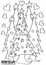 Imprimer le coloriage : Sapin de Noël, numéro 44792