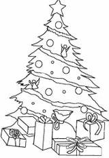 Imprimer le coloriage : Sapin de Noël, numéro 45971