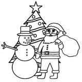 Imprimer le coloriage : Sapin de Noël, numéro 48048