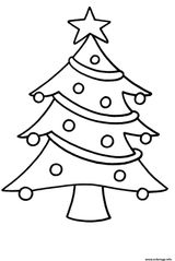 Imprimer le coloriage : Sapin de Noël, numéro 6a4ca136