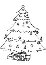 Imprimer le coloriage : Sapin de Noël, numéro 760377