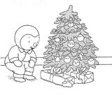 Imprimer le coloriage : Sapin de Noël, numéro c7f22f06