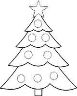 Imprimer le coloriage : Sapin de Noël, numéro ec342495
