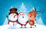 Imprimer le dessin en couleurs : Noël, numéro ac7c6836