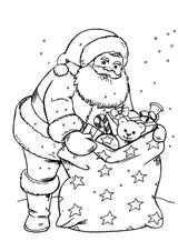 Imprimer le coloriage : Noël, numéro b8620e47