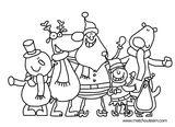 Imprimer le coloriage : Noël, numéro bfdc487c