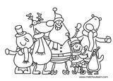 Imprimer le coloriage : Noël, numéro e0a9b29b