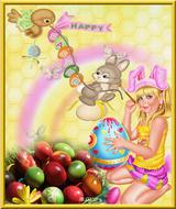 Imprimer le dessin en couleurs : Pâques, numéro 19110