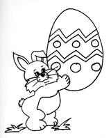 Imprimer le coloriage : Pâques, numéro 228484