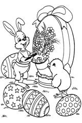 Imprimer le coloriage : Pâques, numéro 231383
