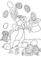 Imprimer le coloriage : Pâques, numéro 240212